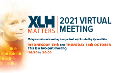 הזמנה לכנס וירטואלי מדעי בנושא XLH - רככת עצמות היפופוספתמית | 13-14 באוקטובר 2021
